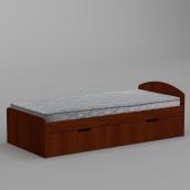 Ліжко Компанит 90+2 944х650х2042 мм яблуко