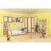 Детская спальня Мебель-Сервис Дисней дуб светлый