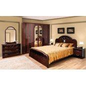 Спальня Світ меблів Лаура 6Д махонь лак