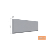 Русти фасадные Тимис 270х400х25 мм из армированого пенопласта (00533)