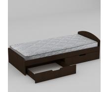 Кровать Компанит 90+2 944х650х2042 мм венге