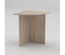 Письменный стол Компанит МО-2 600х600х736 мм дуб сонома