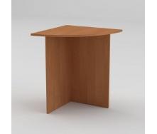 Письмовий стіл Компанит МО-2 600х600х736 мм вільха