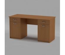 Письмовий стіл Компанит Вчитель-2 1400х600х736 мм бук