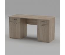 Письмовий стіл Компанит Вчитель-2 1400х600х736 мм дуб сонома