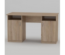 Письмовий стіл Компанит Вчитель 1300х600х736 мм дуб сонома