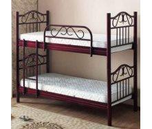 Двухъярусная кровать ONDER MEBLI RN 007 SEDA 900х1900 мм бордо