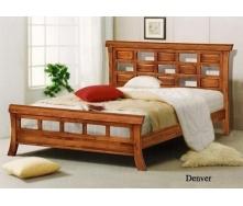 Ліжко ONDER MEBLI Denver 1600х2000 мм вишня