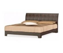 Кровать двуспальная Мебель-Сервис Токио ламель 1690х2230х925 мм венге