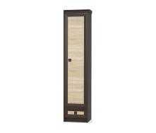 Пенал Мебель-Сервис Тристан 450х2081х527 мм венге темный/дуб самоа