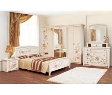 Спальня Мир мебели Ванесса 6Д светлое венге лак