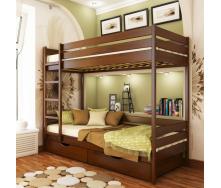 Кровать двухъярусная Эстелла Дуэт 108 80x190 см щит