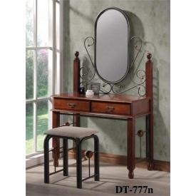 Туалетный столик ONDER MEBLI DT 777 N 95x40x162 см