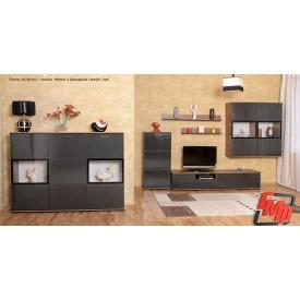 Мебельный комплект БМФ Мишель графит лак