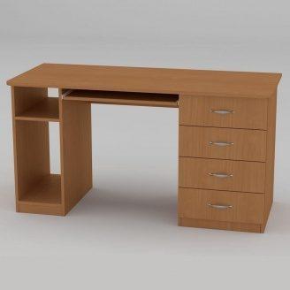 Компьютерный стол Компанит СКМ-11 1400х600х736 мм бук