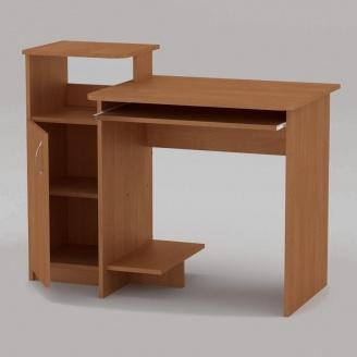 Компьютерный стол Компанит СКМ-2 1102х600х750 мм ольха