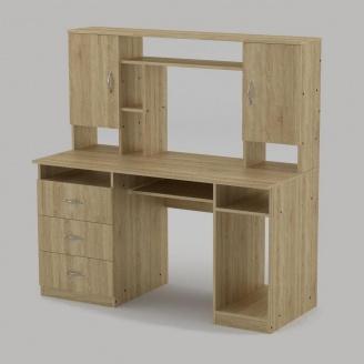 Компьютерный стол Компанит Менеджер 1400х598х756 мм дуб сонома
