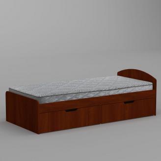 Кровать Компанит 90+2 944х650х2042 мм яблоко
