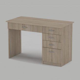 Письмовий стіл Компанит Студент 1155х550х736 мм дуб сонома