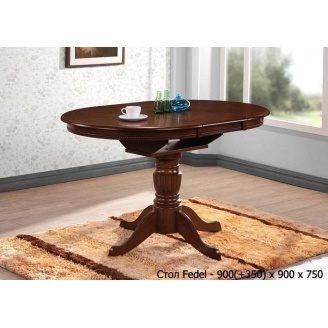 Обеденный стол ONDER MEBLI Fedel шоколад