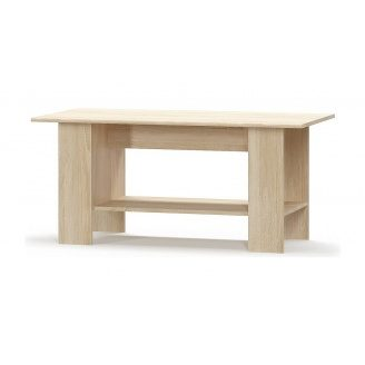Стол журнальный Мебель-Сервис Типс 1200х550х590 мм дуб самоа