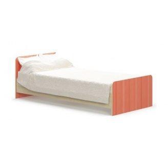 Детская кровать Мебель-Сервис Симба 900 950х670х2032 мм береза/красный