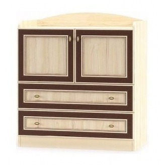 Комод Мебель-Сервис Дисней 2Д2Ш 900х465х1000 мм дуб светлый