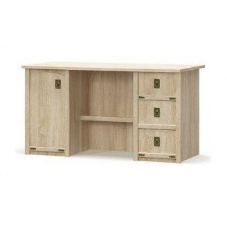 Стіл письмовий Мебель-Сервіс Валенсія 1Д3Ш 760х1400х680 мм самоа