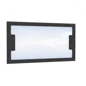 Зеркало БМФ Верона МР-2448 1000х550х20 мм лилия красная/черная лак/венге темный
