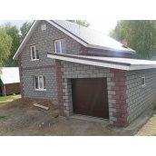 Блок стеновой Vivat 390х190х190 мм серый