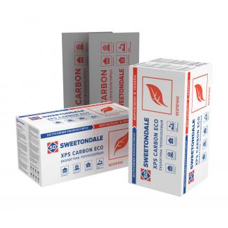 Экструзионный пенополистирол SWEETONDALE CARBON ECO 1180х580х50 мм для теплых полов