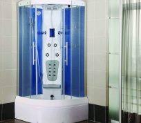 Види душових кабін: розміри, форми і функціональність