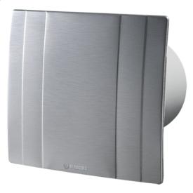 Вентилятор Blauberg Quatro Hi-Tech 125 дизайнерський 167 м3/год 201х178 мм натуральний алюміній