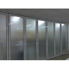 Офісні перегородки з алюмінію