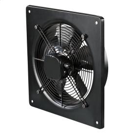 Вентилятор ВЕНТС ОВ 4Е 250 осьовий 800 м3/год 370х370 мм чорний