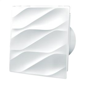 Вентилятор Blauberg Bavaria 100 энергосберегающий осевой 85 м3/ч 160х160 мм белый