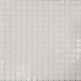 Мозаика стеклянная Stella di Mare R-MOS A11 белая на сетке 327x327 мм