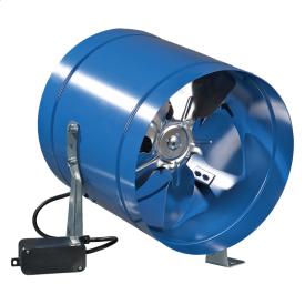 Вентилятор ВЕНТС ВКОМ 315 промисловий вісьовий 1700 м3/ч 337х278 мм синій