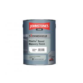Фасадная краска Johnstones Stormshield Pliolite Based Masonry Finish 5 л