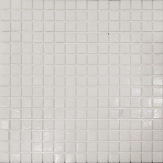 Мозаїка скляна Stella di Mare R-MOS A11 біла на сітці 327x327 мм