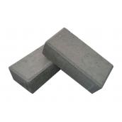 Тротуарная плитка ЕКО Кирпичик 200х100х60 мм серый
