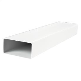 Воздуховод ВЕНТС 9010 пластиковый плоский 90х220 мм 1 м