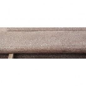 Бетонный подоконник МикаБет с мраморной крошкой 18 см серый