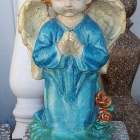 Бетонна статуя МікаБет Ангел 20х15х33 см