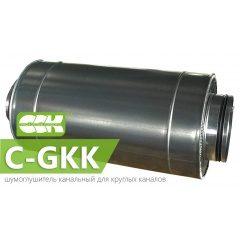 C-GKK шумоглушитель трубчатый канальный круглый