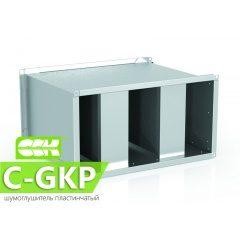 C-GKP шумоглушитель пластинчатый канальный прямоугольный