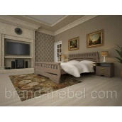 Деревянная кровать ТИС Атлант 4 дуб 140х200