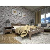 Деревянная кровать ТИС Корона 2 бук 180х200