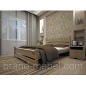 Деревянная кровать ТИС Атлант 1 бук 120х200