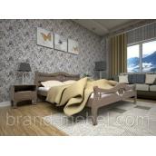 Деревянная кровать ТИС Корона 2 дуб 140х200